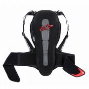 Alpinestars Nucleon KR-2 Adventure Touring Back Protector black/red